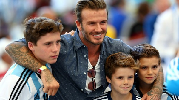 David Beckham's Son Brooklyn Joins Arsenal. Image: Getty.