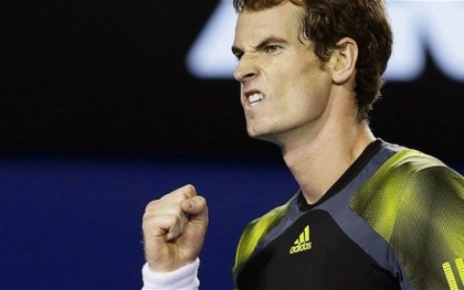 ANDY MURRAY: GRIN OF A CHAMPION