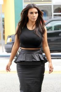 Kim and Kourtney Kardashian film a few scenes for their reality show 'Kourtney & Kim Take Miami' at their Dash boutique