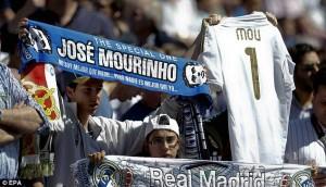 Madrid Fans at the Bernabeu.