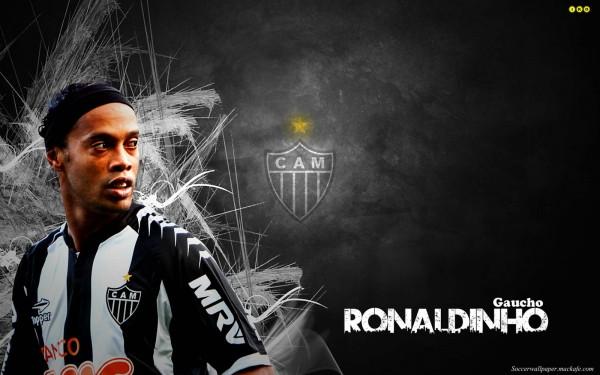 Atletico Mineiro Star Ronaldinho.