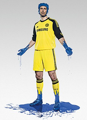 Home Goalkeeper's Kit.