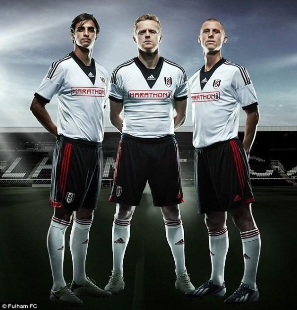 Fulham FC's Home Kit.