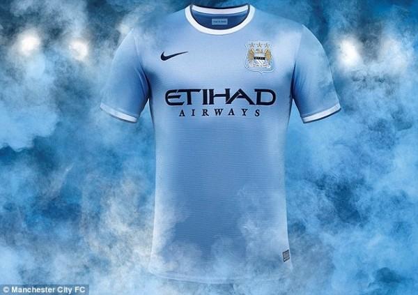 Manchester City's Home Kit.