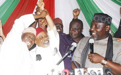 APC MEETING WHERE SEN. CHRIS NGIGE WAS ENDORSED AS CONSENSUS CANDIDATE FOR ANAMBRA GOVERNORSHIP ELECTION