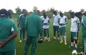Stephen Keshi Led the Super Eagles to AFCON 2313 Victory.