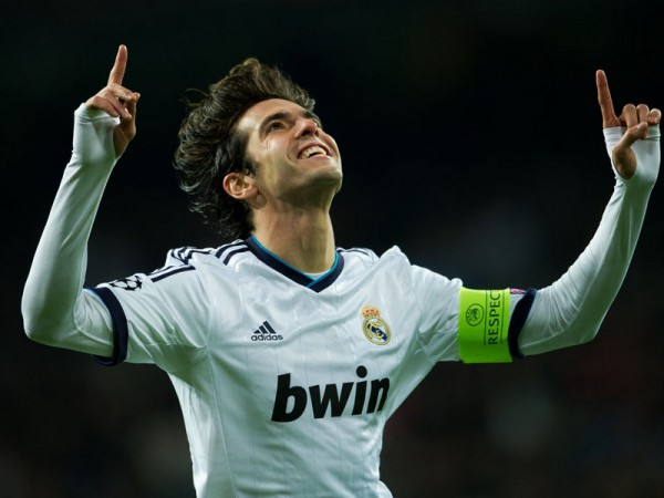2007 Ballon d'Or WInner and World Player of the Year, Kaka.