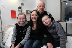 Vanessa-Tanasio-with-son-Max-daughter-Ella-and-Sergeant-Mark-Robertson-2188304