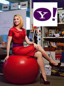 Yahoo boss, Marissa Mayer