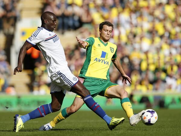 Demba Ba Started His Second Game of the Season Against Norwich at Carrow Road.