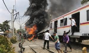 Indonesia train accident