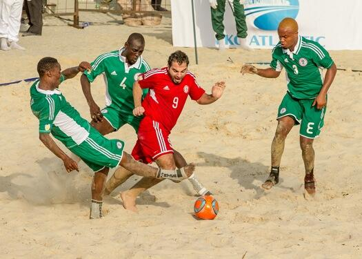 Nigeria Have Won the Two Previous Editions of the Copa Lagos Beach Soccer Championship.