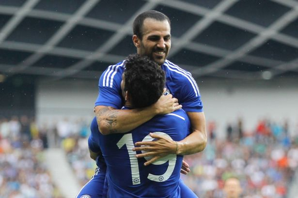 Fabregas joined Chelsea from Barcelona