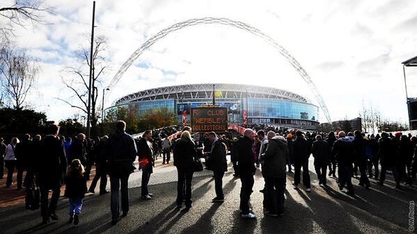 The New Wembley Stadium (a 90, 000 Capacity Stadium) Built on the Ruins of the Old Wembley and Re-Opened in 2007. Image: Getty.