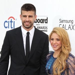 Shakira and Gerard Pique arrive at 2014 Billboard Music Awards - Arrivals - Las Vegas