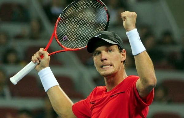 Tomas Berdych Beat Marin Cilic to Keep World Tour Finals Semis Qualification Hopes Alive. Image: Getty.
