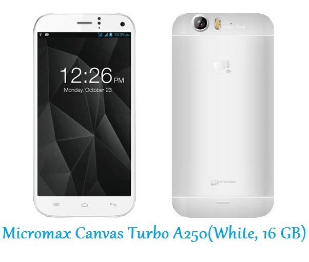 Micromax Canvas Turbo A250(White, 16 GB)