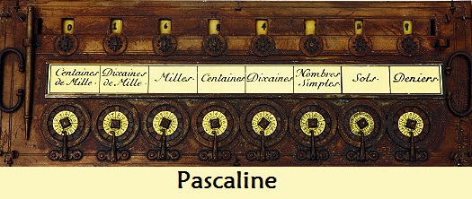 Pascaline – The first calculator
