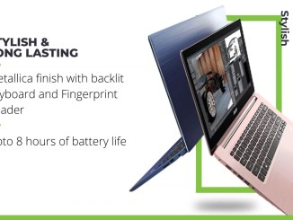 Acer Swift 3 Ryzen 5 Quad Core Performance