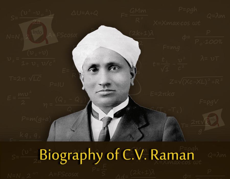 Biography of C.V. Raman