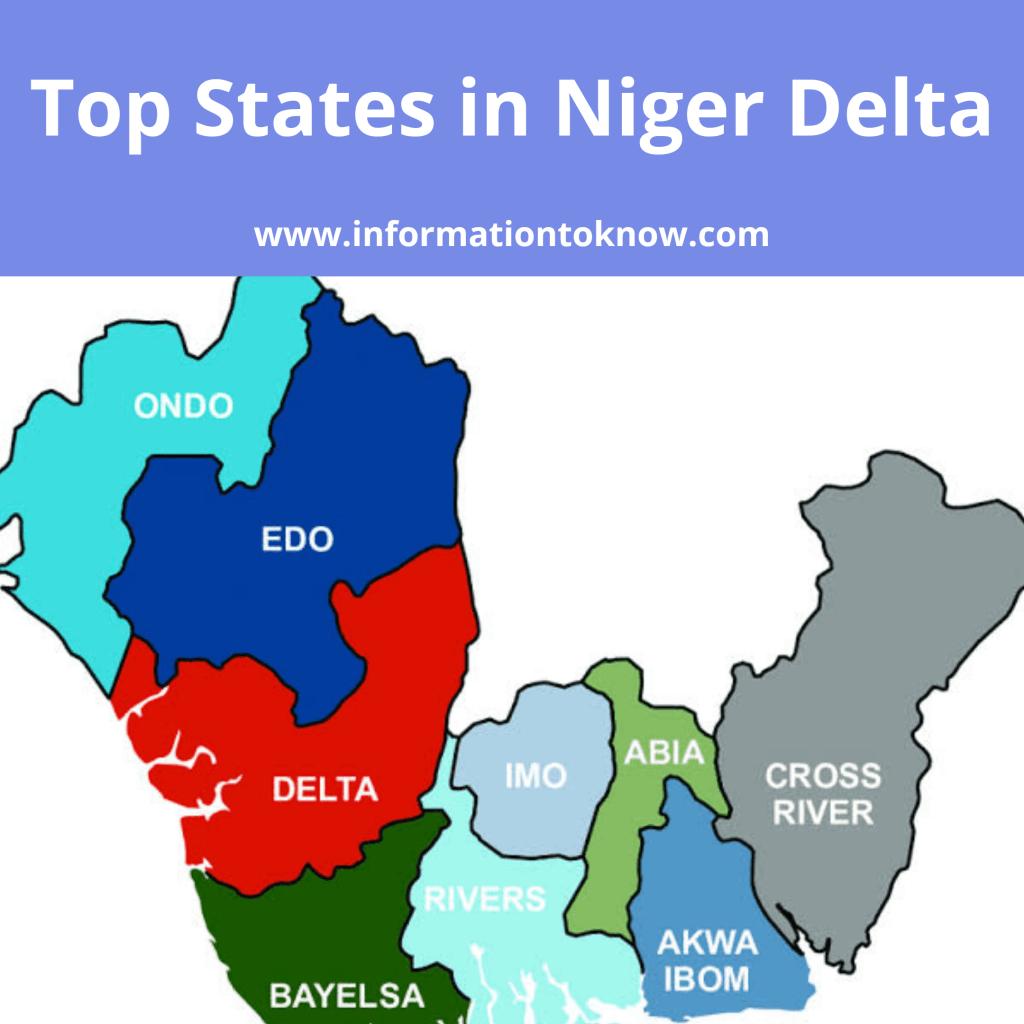 Niger Delta area in Nigeria; States in Niger Delta, & All to Know