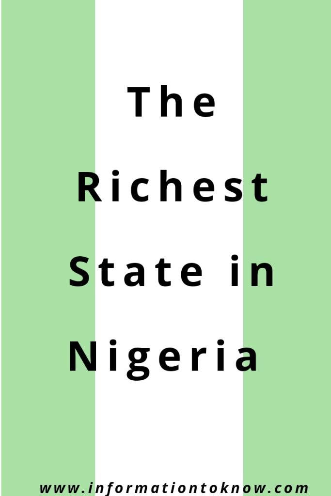 richest state in Nigeria