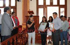 Reconocen colonos a autoridades de Huajuapan