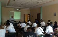 Continúa Fiscalía General, capacitación a Policías Municipales sobre Nuevo Sistema Penal