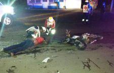 Muere motociclista tras choque con automóvil