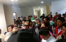 Protestan por presunto incumplimiento de SEDAPA
