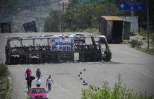 Autoridades municipales y agrarias se instalan en plantón para exigir justicia por la masacre de Nochixtlán