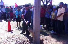 Más de 115 familias miahuatecas contarán con energía eléctrica