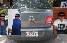 Capturan a presunta banda de asaltantes en Tehuantepec