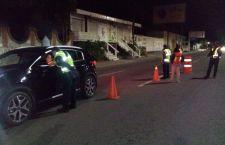 Cumplen con 24 horas de arresto 14 conductores alcoholizados