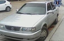 Aseguran vehículo robado en San Pedro y San Pablo Ayutla