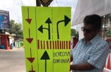 Buscan orden en vialidades de Huajuapan
