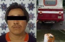 Aseguran a hombre acusado de robar gasolina en el Itsmo