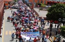Continuarán protestas de la Sección 22