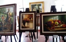 Pintor tezoateco comparte sus raíces con Huajuapan