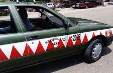 Se quejan usuarios por altas tarifas de taxis en la Feria de Huajuapan
