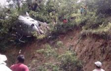 Se desploma helicóptero de PGR que llevaba víveres a damnificados por el terremoto en el Istmo; tres heridos