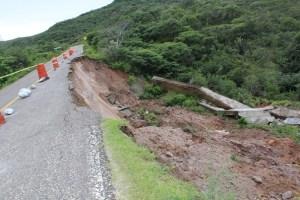 Urge atender riesgos en la carretera Huajuapan-Tehuacán