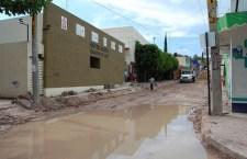 Denuncian irregularidades en obra de la calle 21 de marzo