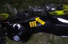 Muere joven tras accidente en su motocicleta