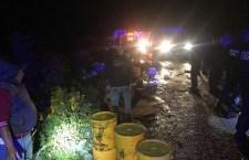Mortal accidente en la Mixteca