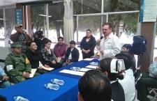 Trabajan en rutas de evacuación del hospital general de Huajuapan