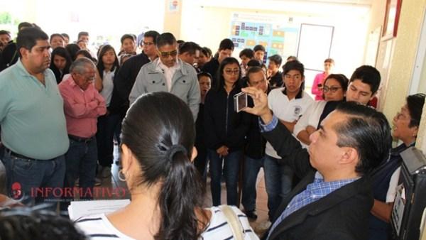 Chocan maestros de la Preparatoria 3 por elecciones próximas; denuncian anomalías
