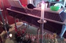 Piden justicia familiares de Raúl, joven que murió sepultado en obra municipal de Tuxtepec