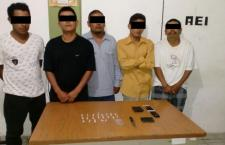 Cae presunta banda de narcomenudistas en Huajuapan