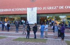 STEUABJO protesta en Ciudad Universitaria